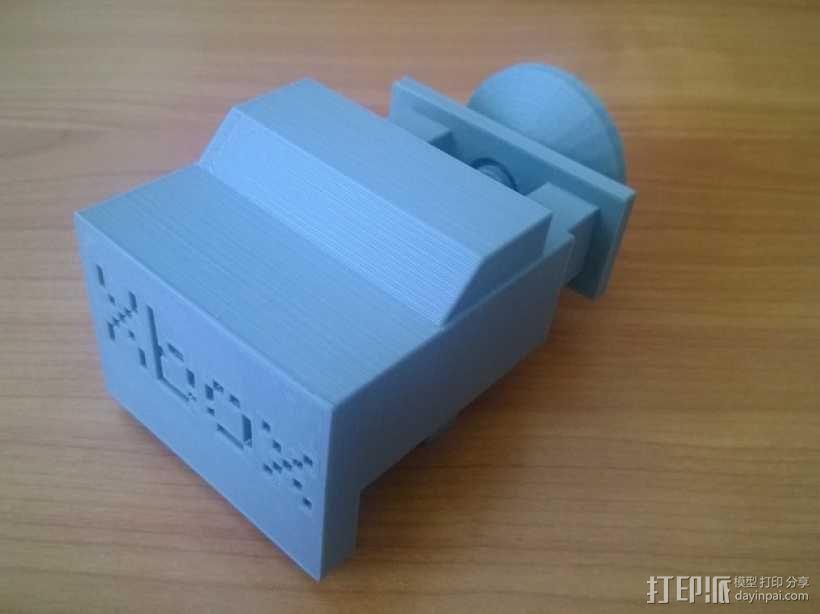 Xbox One Kinect调整式电视支架 3D模型  图6