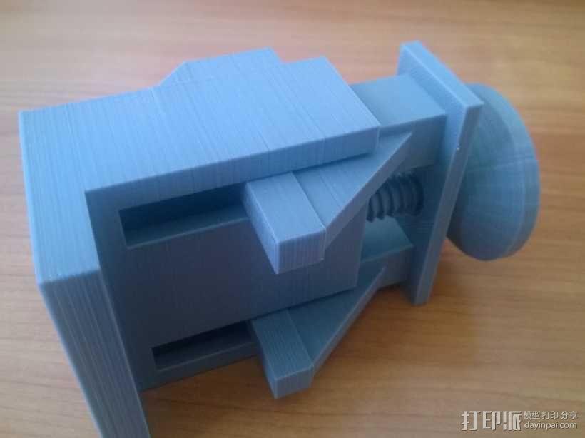 Xbox One Kinect调整式电视支架 3D模型  图8