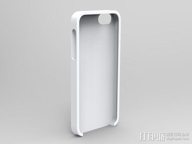 iphone 5s纯色手机套 3D模型  图2