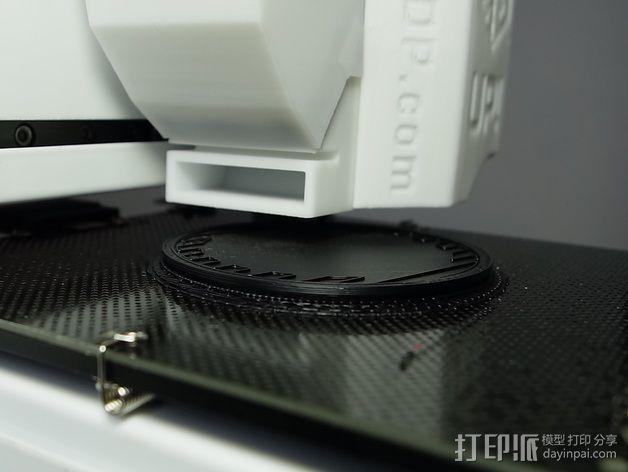 Sony RX100M2相机镜头盖 3D模型  图2