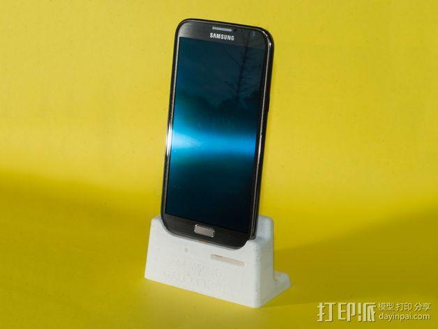 三星Galaxy Note 2站架 3D模型  图1