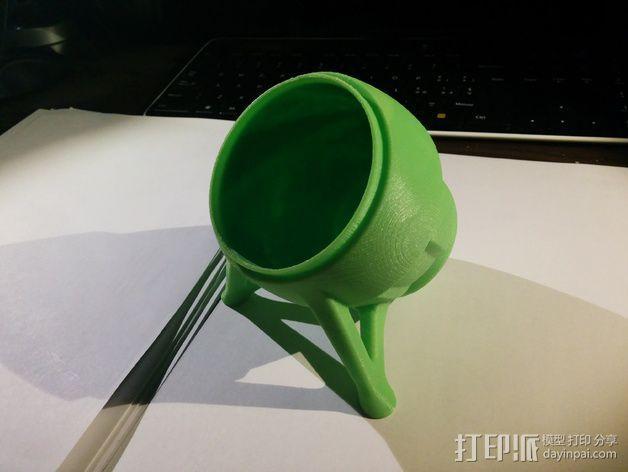 超可爱的扩音器支架 3D模型  图1
