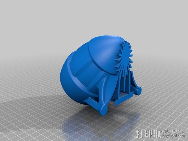 超可爱的扩音器支架 3D模型  图2