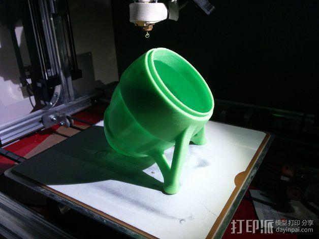 超可爱的扩音器支架 3D模型  图4
