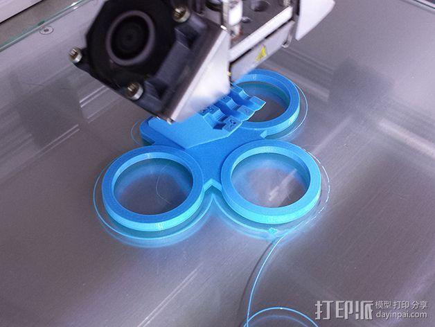 GoPro相机支架 支座  3D模型  图3