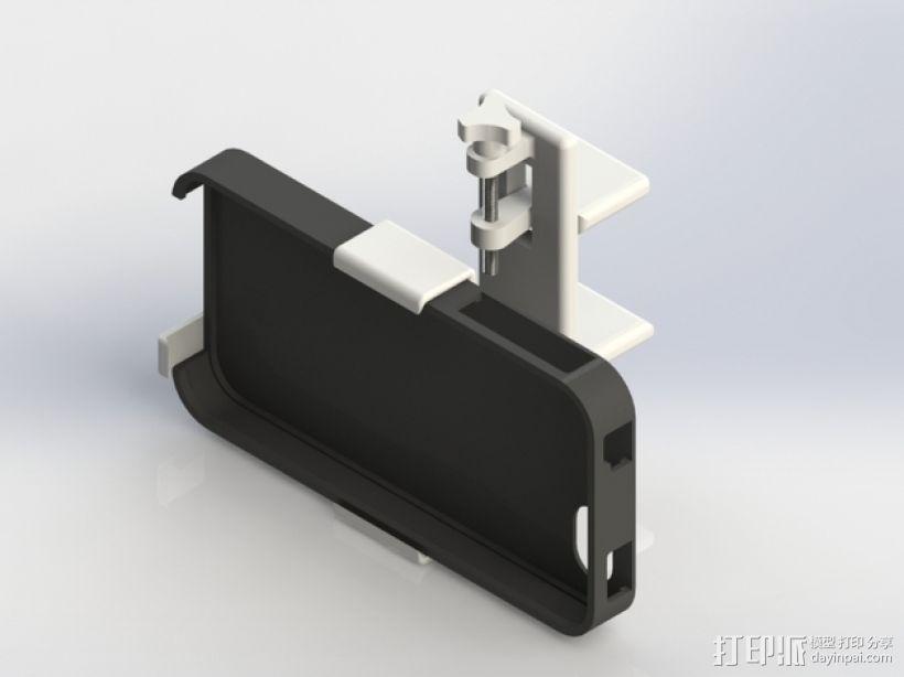车用(或其他用途)iphone支架 3D模型  图1