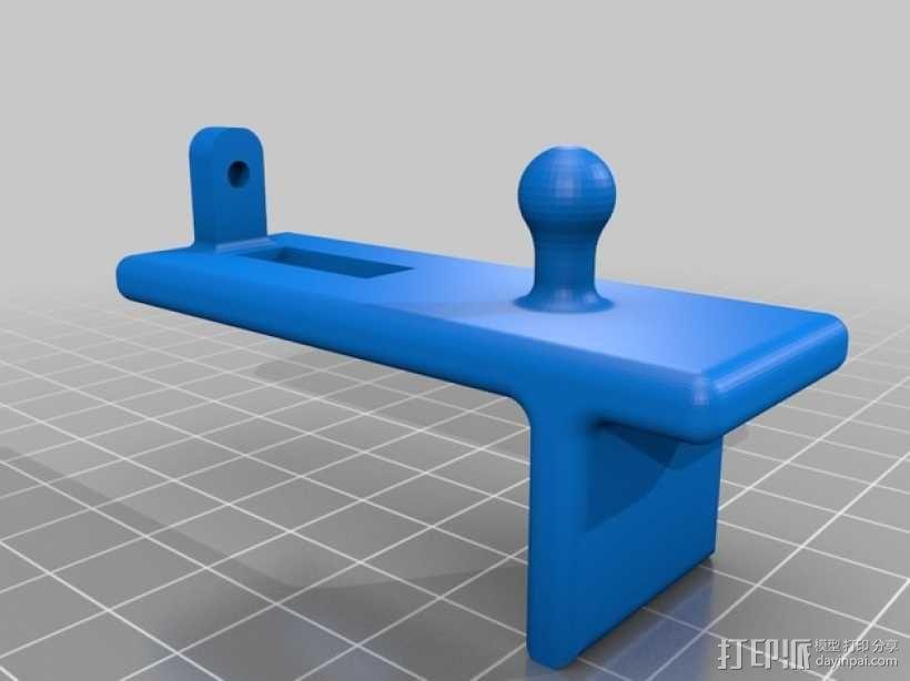 车用(或其他用途)iphone支架 3D模型  图5