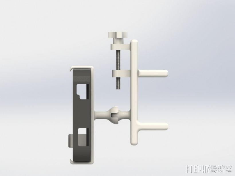 车用(或其他用途)iphone支架 3D模型  图3