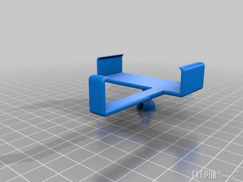 车用(或其他用途)iphone支架 3D模型  图7