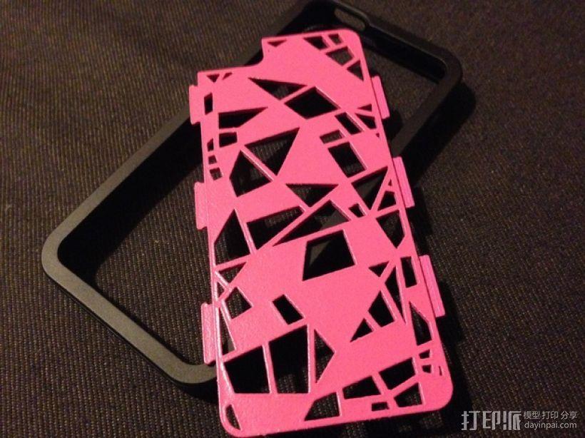 FraemesOpen粉碎 iPhone 5/5S手机套 3D模型  图1