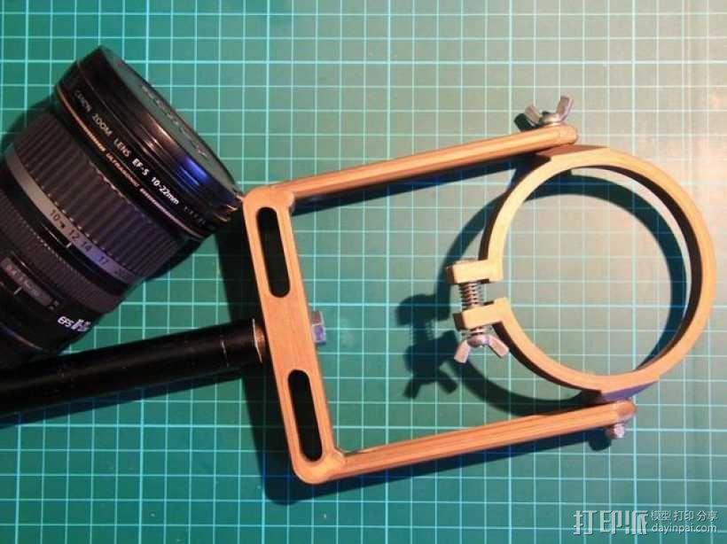 佳能10-22mm镜头360x180全景头、球形头 3D模型  图9