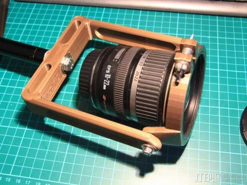 佳能10-22mm镜头360x180全景头、球形头 3D模型  图8