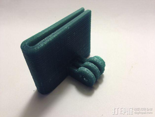 极限运动包带夹 3D模型  图2