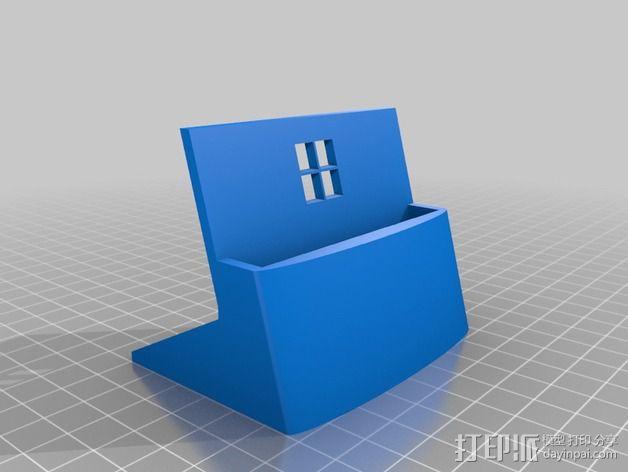 诺基亚1020手机站架 3D模型  图3