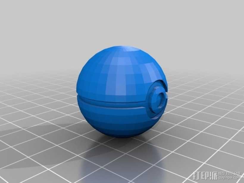 宝贝球 3D模型  图2