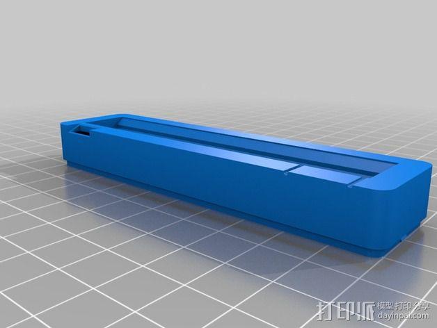 树莓派保护外盒 3D模型  图2