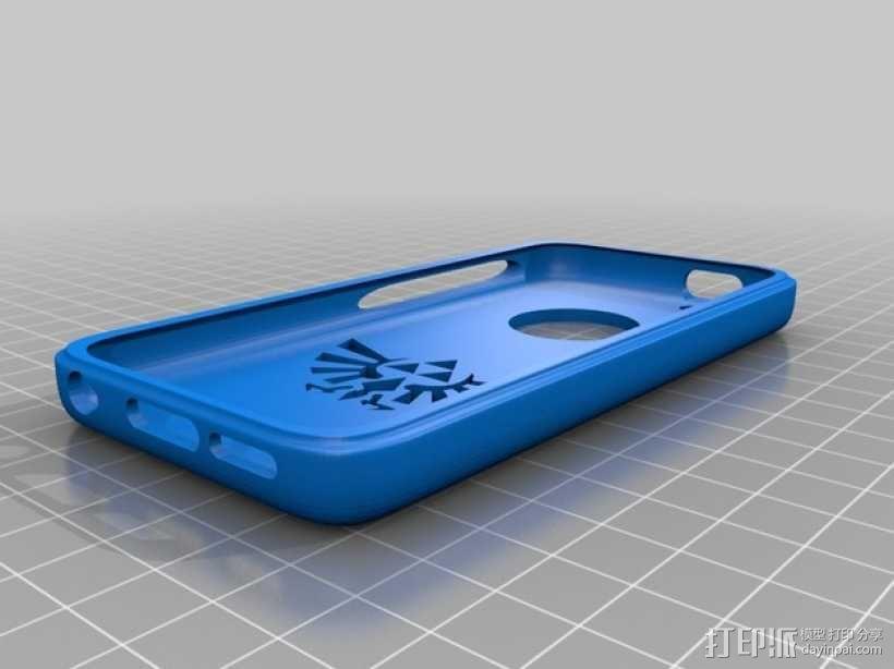 圣三角iPhone 5c手机套 3D模型  图1