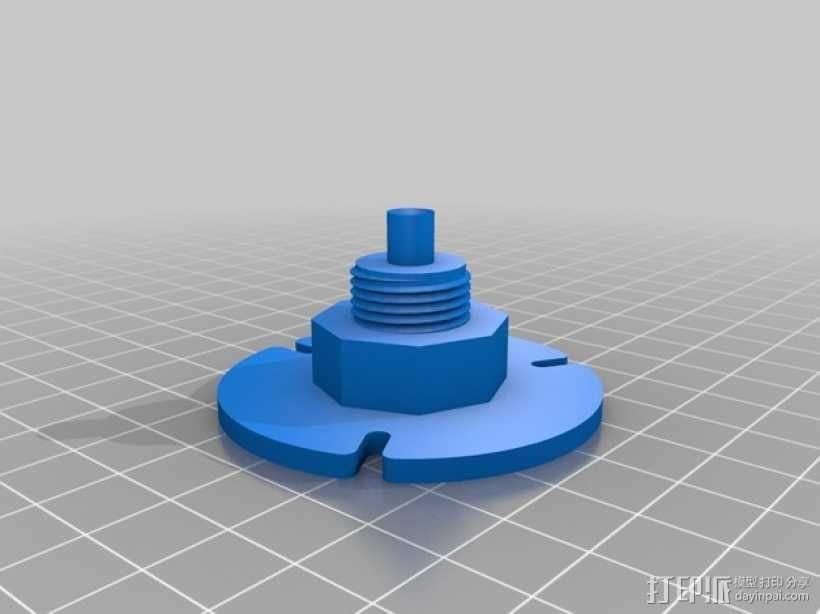 Axis M1031-W相机脚架 3D模型  图2