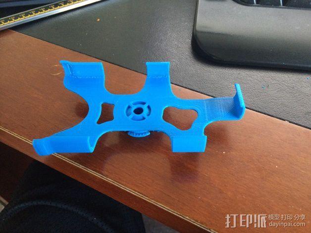 iphone5s车夹 3D模型  图2