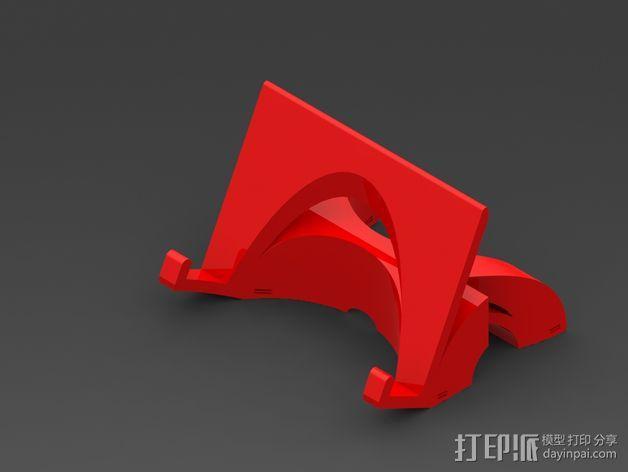 三星 Galaxy Note 3 站架 3D模型  图1