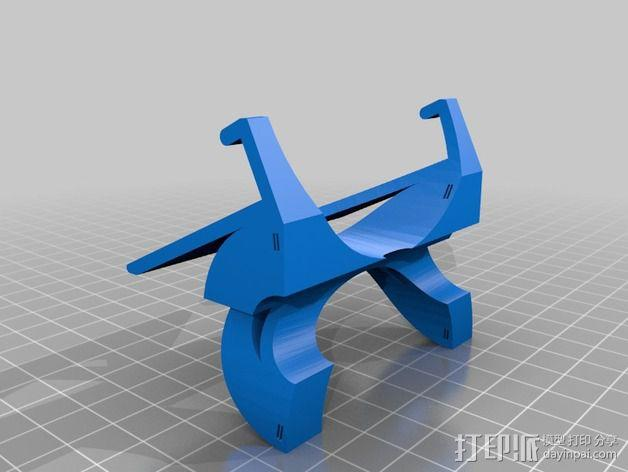 三星 Galaxy Note 3 站架 3D模型  图4