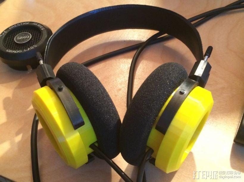 Grado耳机环 3D模型  图1
