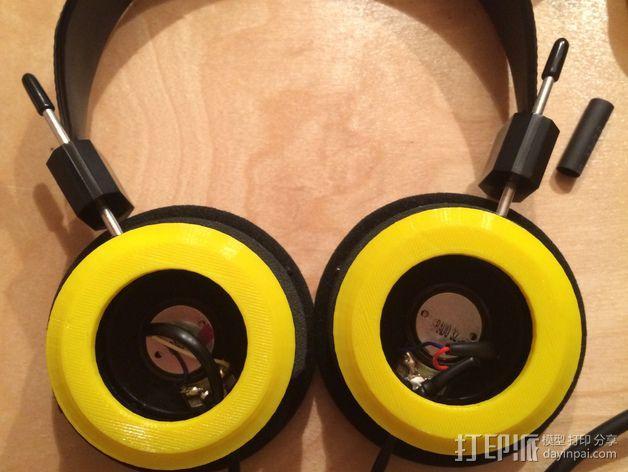 Grado耳机环 3D模型  图3