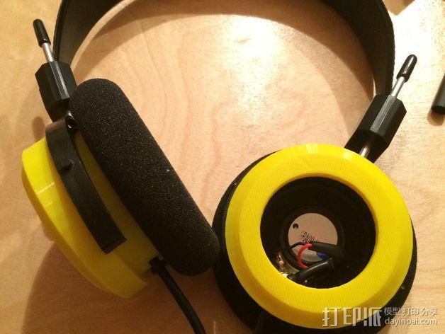 Grado耳机环 3D模型  图2