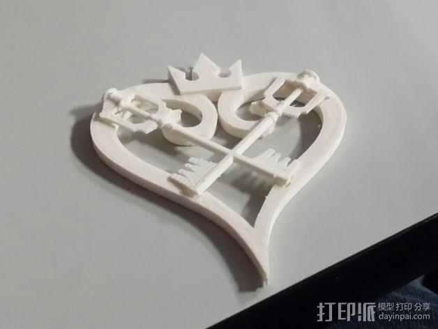 王国守护钥匙 3D模型  图1