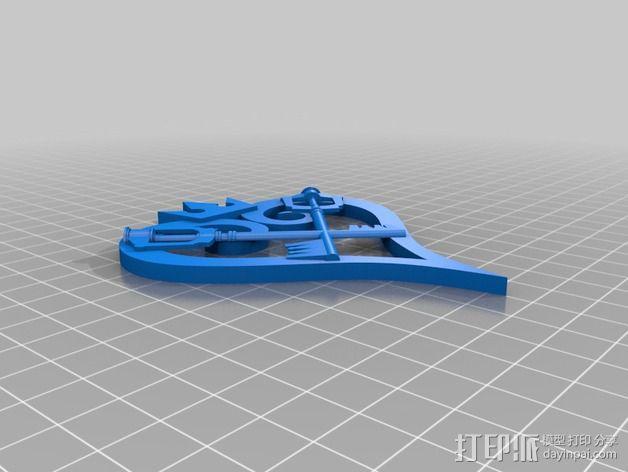 王国守护钥匙 3D模型  图3