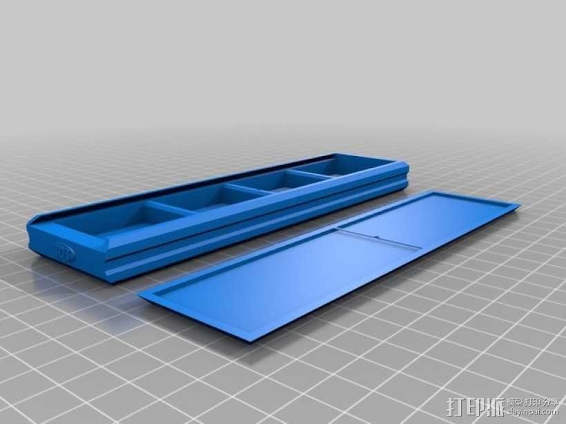 任天堂游戏卡收纳盒 3D模型  图1