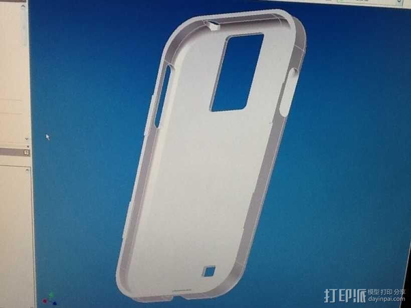 三星Galaxy S4 手机套 3D模型  图2