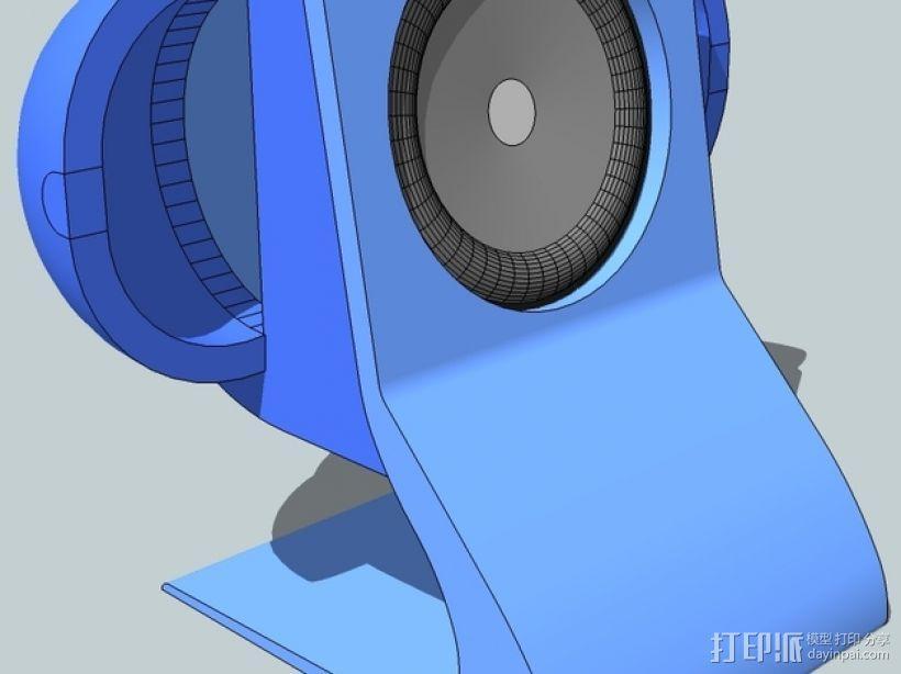 扬声器BR Visaton BF32 v2 3D模型  图1