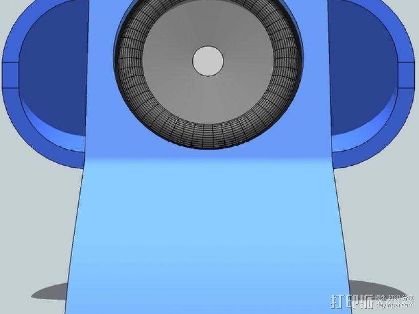 扬声器BR Visaton BF32 v2 3D模型  图2