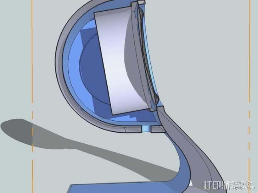 扬声器BR Visaton BF32 v2 3D模型  图5