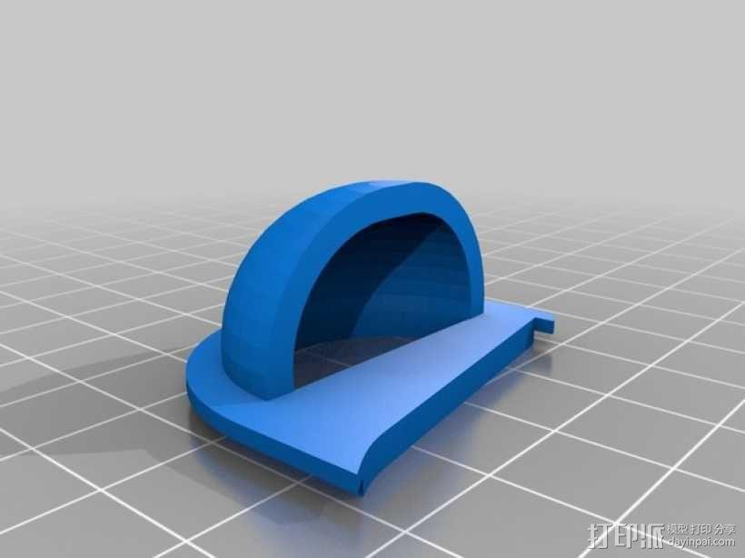 扬声器BR Visaton BF32 v2 3D模型  图7