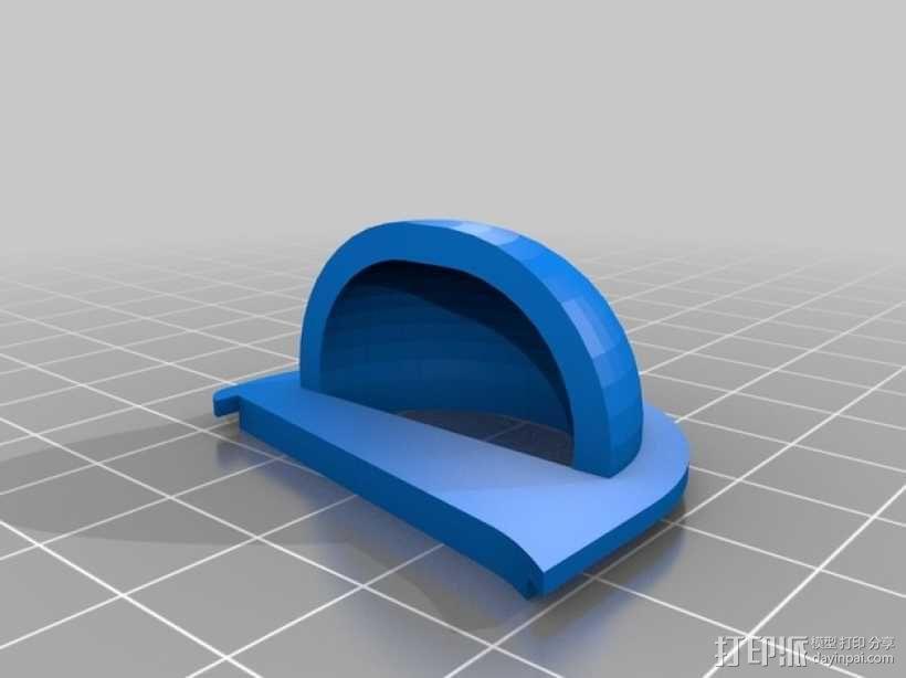扬声器BR Visaton BF32 v2 3D模型  图8