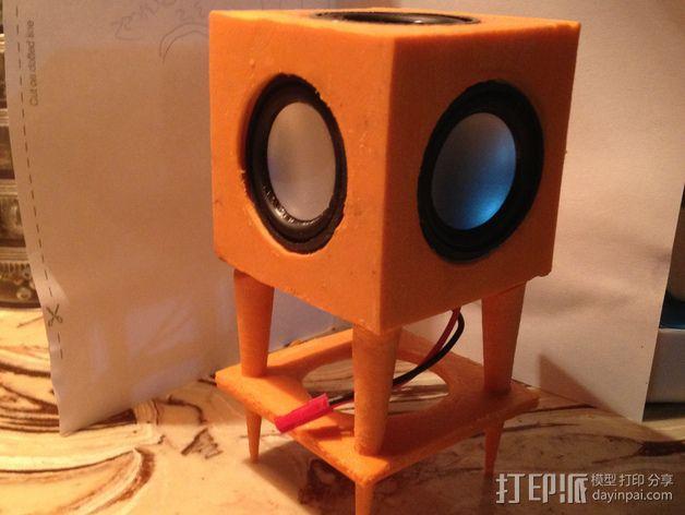 现代音箱保护罩 3D模型  图1