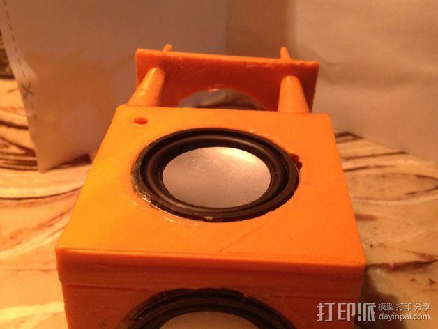 现代音箱保护罩 3D模型  图4