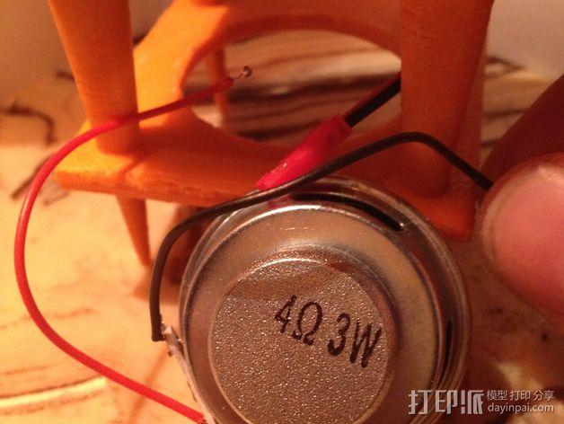 现代音箱保护罩 3D模型  图5