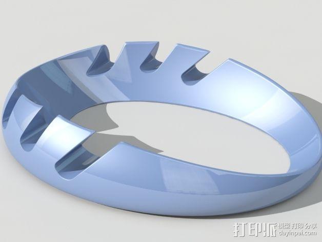 iPad环形站架 3D模型  图2