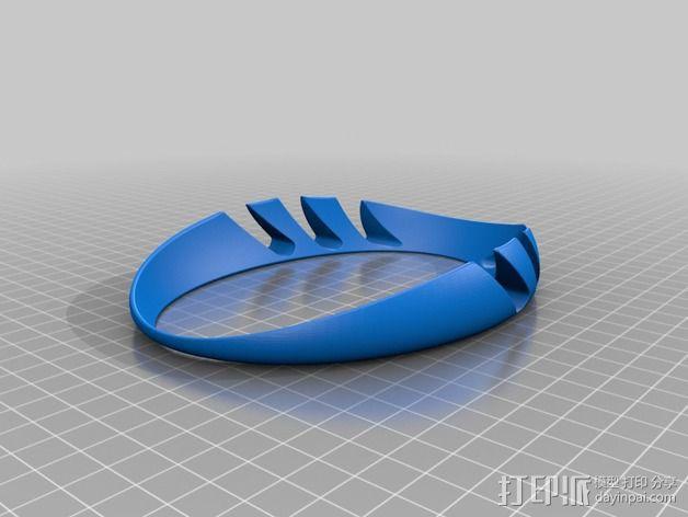 iPad环形站架 3D模型  图4