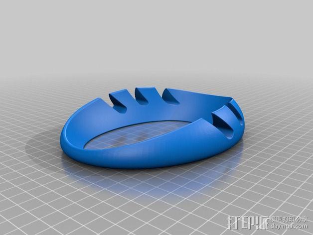 iPad环形站架 3D模型  图5