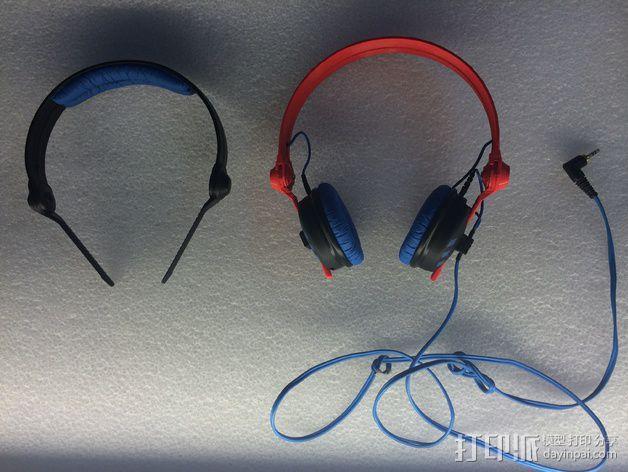 耳机杆HD 25 II 3D模型  图2
