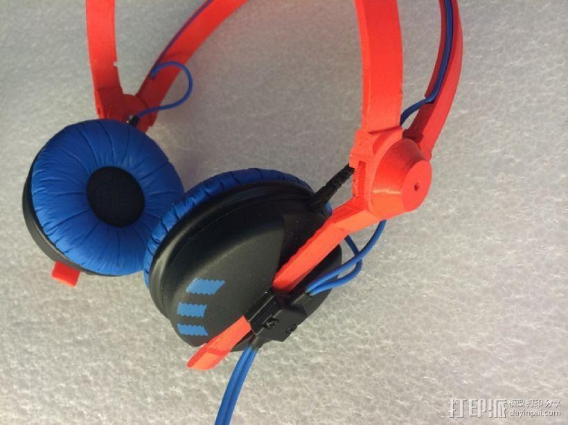 耳机杆HD 25 II 3D模型  图1