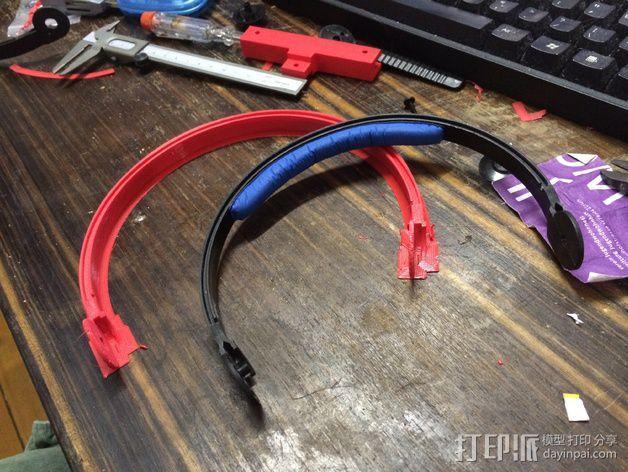 耳机杆HD 25 II 3D模型  图3