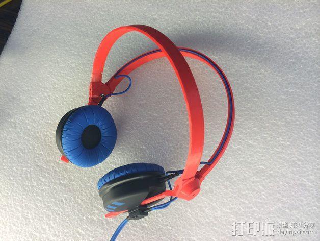 耳机杆HD 25 II 3D模型  图4