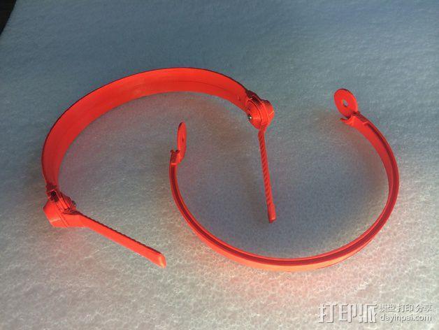 耳机杆HD 25 II 3D模型  图5