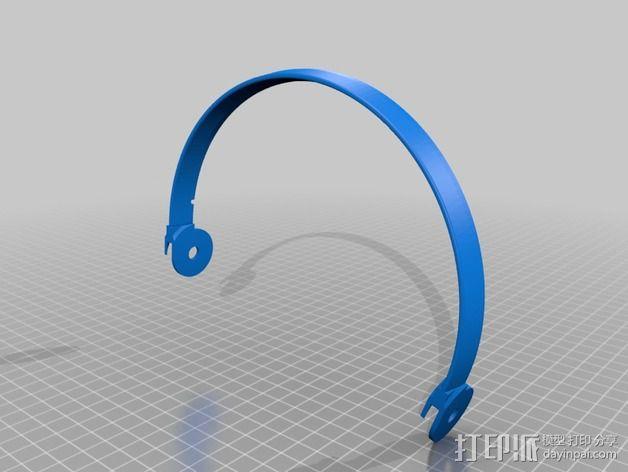 耳机杆HD 25 II 3D模型  图7