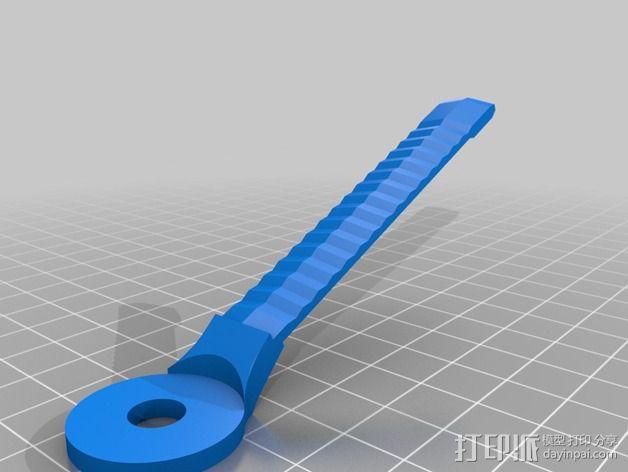 耳机杆HD 25 II 3D模型  图8